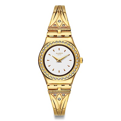 Swatch GOLDEN PATH 金色道路手錶