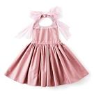 MARLMARL兒童用餐圍裙 女孩/粉紅(KIDS 100-110cm)