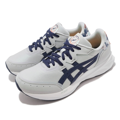 Asics 休閒鞋 Tarther Blast 復古 男鞋 亞瑟士 奧運配色 經典 穿搭推薦 灰 藍 1201A403960