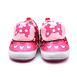 Disney 米妮粉紅可愛嗶嗶學步鞋