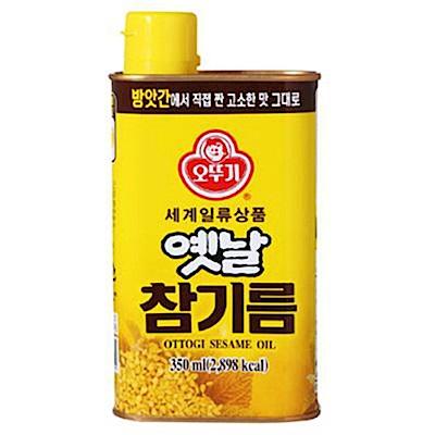 韓國不倒翁100%純芝麻油350ml