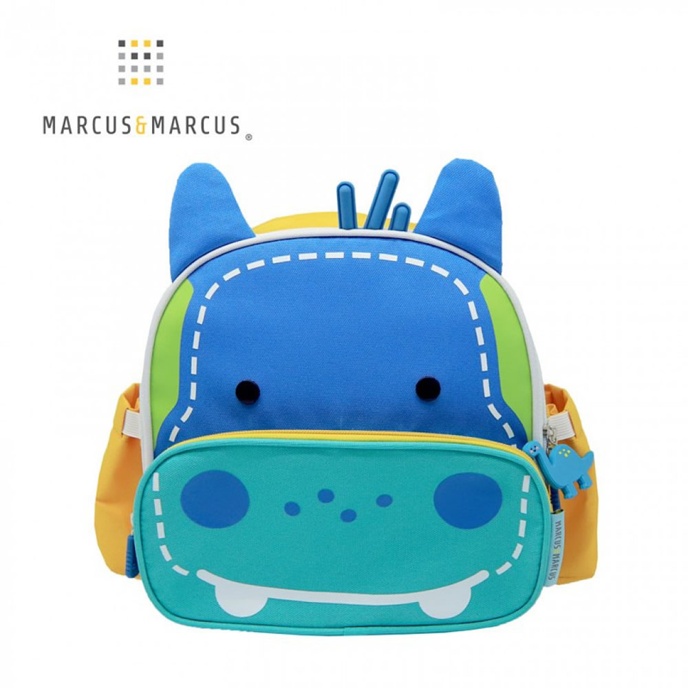 【MARCUS&MARCUS】動物樂園兒童保溫野餐背包-河馬