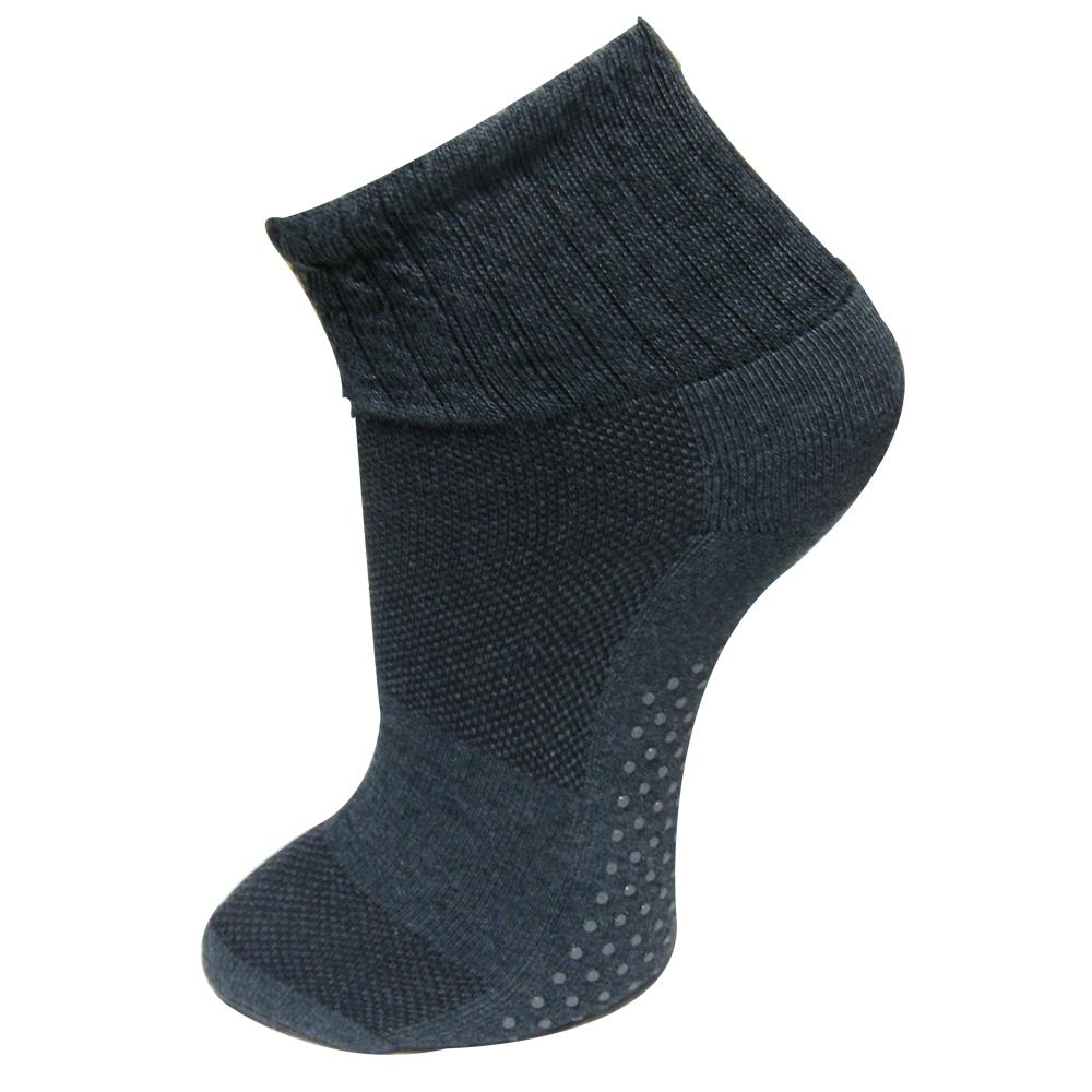 三合豐 ELF男性精梳棉寬鬆襪口止滑毛巾氣墊底短襪/運動襪 -12雙