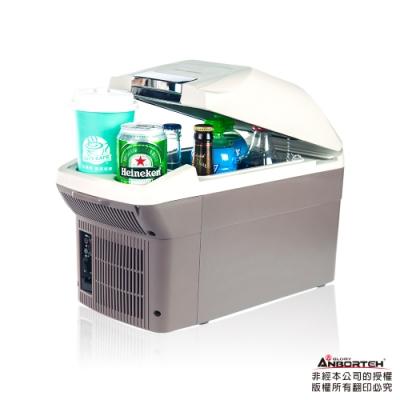 【安伯特】冰炫風 冷/熱兩用行動冰箱9L-附背帶(送-變壓器)可攜式 兩用迷你冰箱
