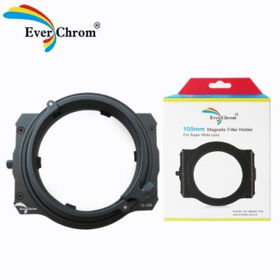 EverChrom 彩宣 O-100方形濾鏡磁吸支架適用Olympus廣角鏡頭─內附磁鐵框