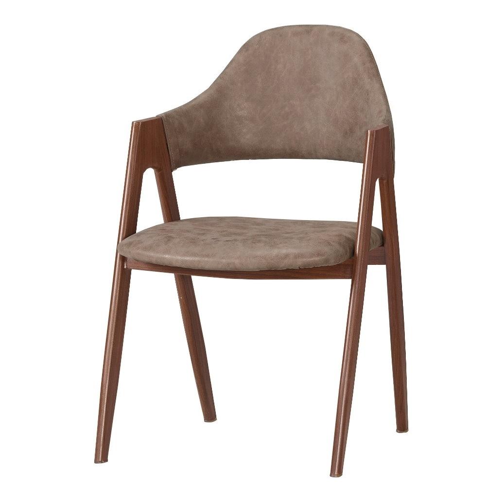MUNA 塔利斯餐椅(皮)(五金腳)(4入) 50X53X83cm