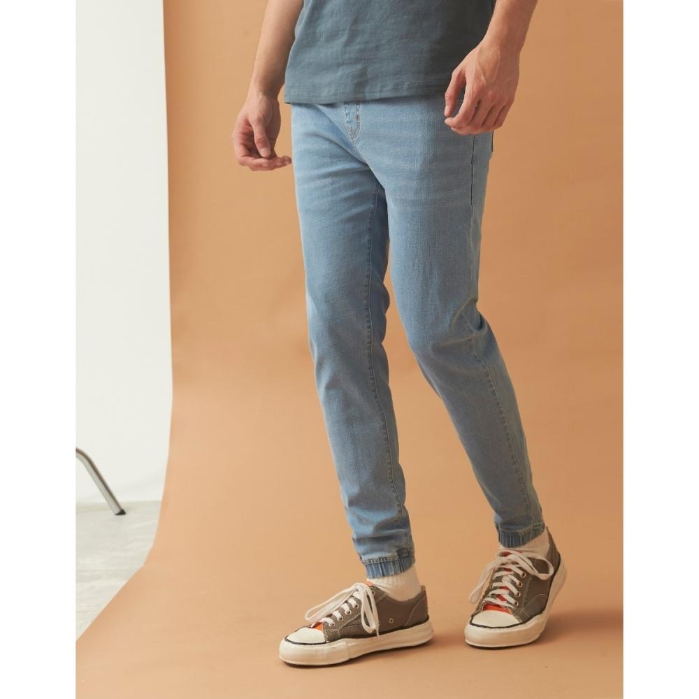 CACO-彈力牛仔束腳褲(二色)-男【B1AR013】