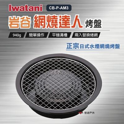 【Iwatan 岩谷】網燒達人烤盤 CB-P-AM3 (悠遊戶外)