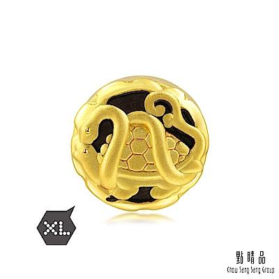 點睛品  Charme 四神獸玄武轉運珠 黃金串珠