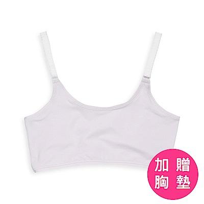 anny pepe 成長型內衣 天絲排汗紗可調肩帶型-粉紫