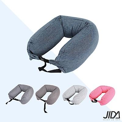 JIDA 日式簡約微粒子U型護頸枕 65cmX16cm(5款)