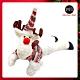 摩達客耶誕-聖誕趴趴翹臀玩偶擺飾午安枕-聖誕麋鹿-交換禮物 product thumbnail 1
