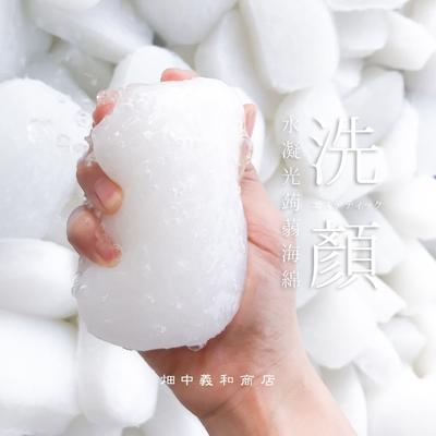 畑中義和商店 水凝光洗顏蒟蒻海綿