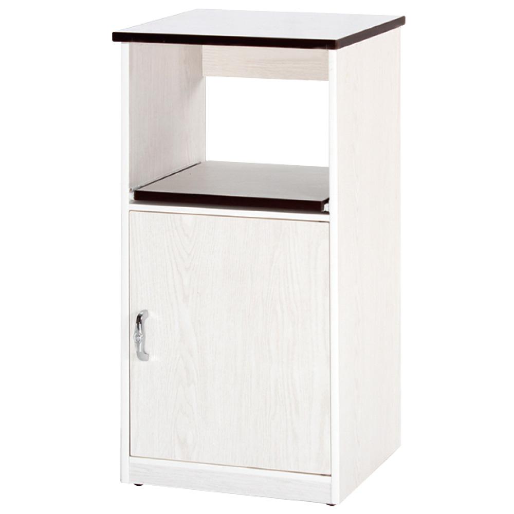 綠活居 阿爾斯環保1.5尺塑鋼單門單格餐櫃/收納櫃-45x42x122cm免組