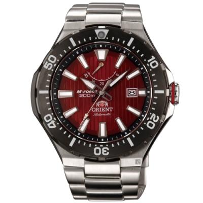 ORIENT 東方錶 M-FORCE 200米潛水機械錶-49.1mm SEL07002H
