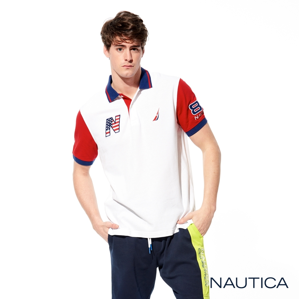 Nautica 國家隊短袖POLO衫-美國