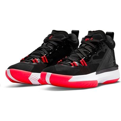 NIKE 籃球鞋  大童 童鞋 運動鞋 包覆 緩震 女鞋 黑紅 DA3131006 JORDAN ZION 1 GS