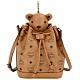 MCM Bear 棕色小熊玩偶造型束口水桶包(玩偶可拆當鑰匙圈使用) product thumbnail 1
