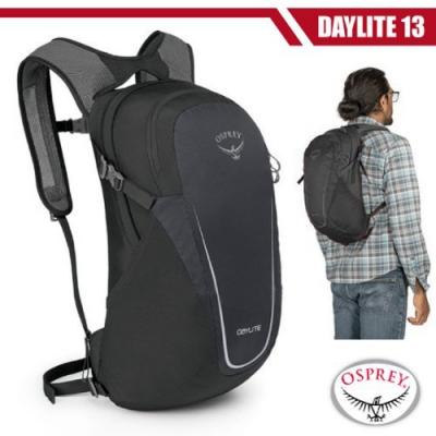 OSPREY Daylite 13L 超輕多功能隨身背包/攻頂包_黑 R
