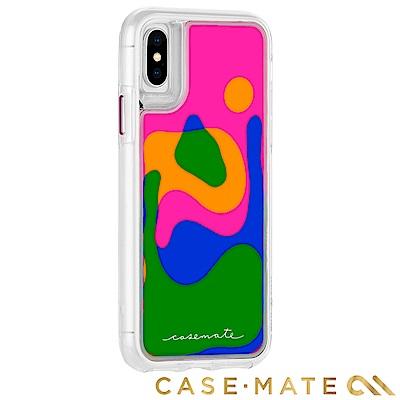 美國 Case-Mate iPhone X Lava Lamp 熔岩瀑布雙層防摔...