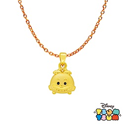 Disney迪士尼TSUM TSUM系列金飾 黃金墜子-妙妙貓款 送項鍊