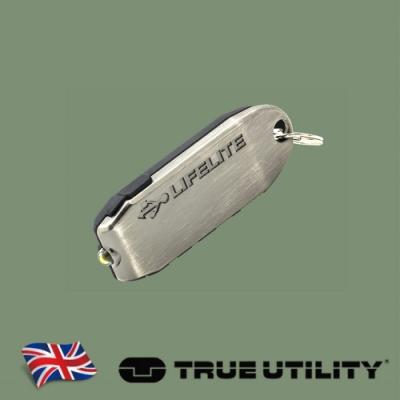【TRUE UTILITY】英國多功能USB充電迷你電筒LifeLite