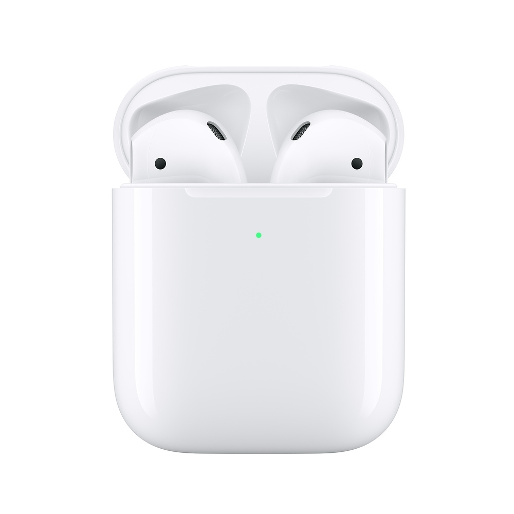 Apple AirPods 搭配無線充電盒 藍牙無線耳機(MRXJ2TA/A) - 第二代