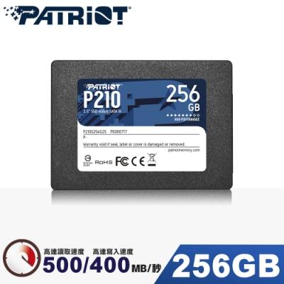 Patriot美商博帝 P210 256GB 2.5吋 SSD固態硬碟