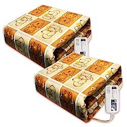 韓國甲珍雙人/單人恆溫電熱毯(超值2入組) KR3800-T