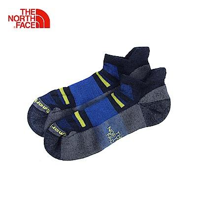 The North Face北面藍色舒適戶外通用低筒襪