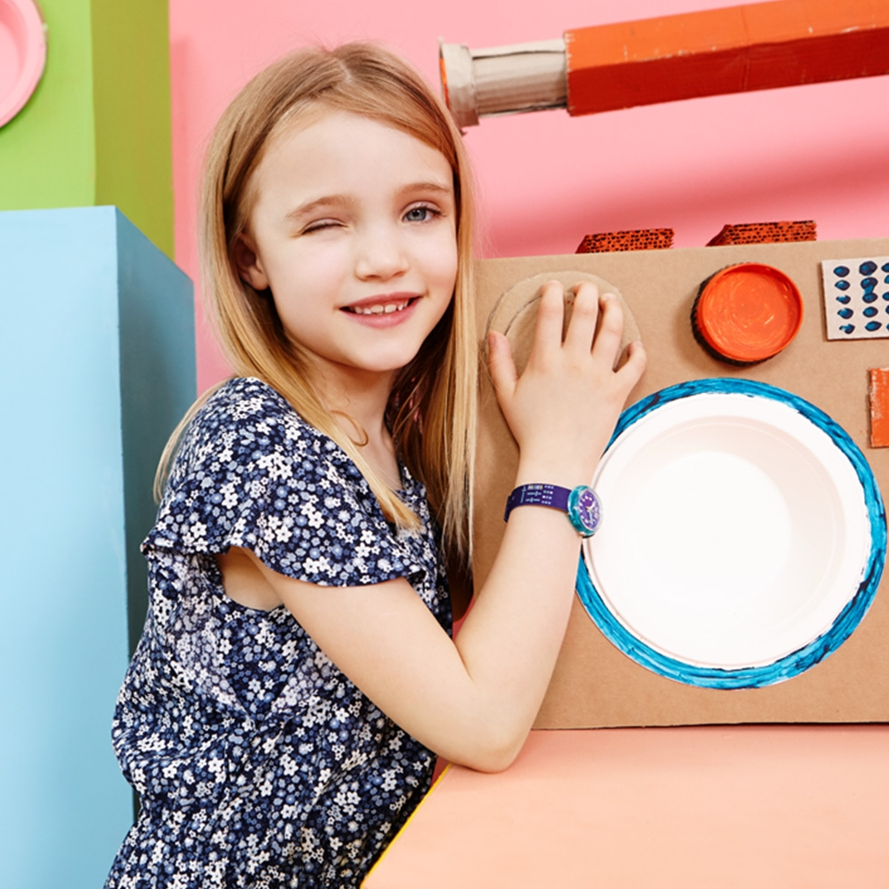 FLIKFLAK 兒童錶 PLUG IT-31.85mm