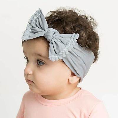 Baby童衣 寶寶頭飾 歐美風蝴蝶結寬髮帶  88770