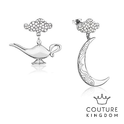 Disney Jewellery by Couture Kingdom 阿拉丁神燈白金耳環
