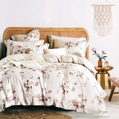 (贈枕套x1) Saint Rose頂級精緻100%天絲兩用被床包組 雙/大均價 (包覆高度35CM)
