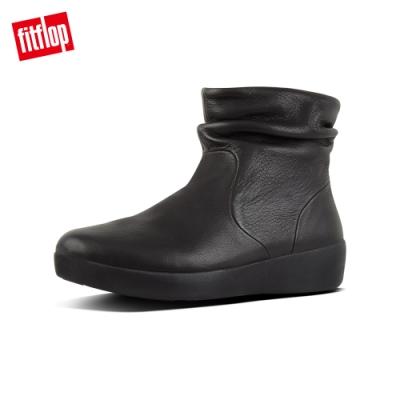 FitFlop SKATEBOOTIE - LEATHER 黑色