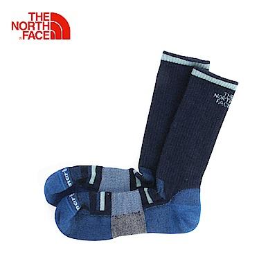 The North Face北面藍色保暖舒適通用長筒襪