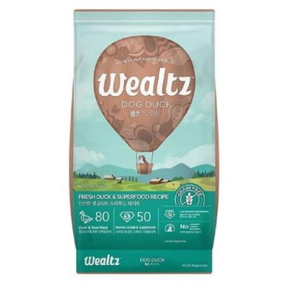 Wealtz 維爾滋 天然無穀寵物糧 全齡犬鴨肉餐 2.1kg
