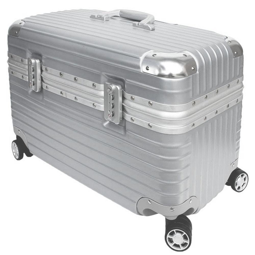 YC Eason 18吋海關鎖款工具箱 銀色