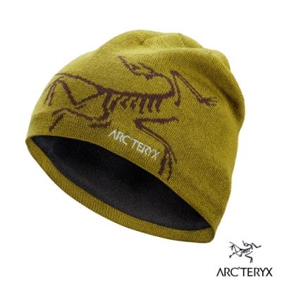 Arcteryx 始祖鳥 Bird Head 保暖針織羊毛毛帽 育空/溶劑褐