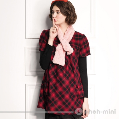 【ohoh-mini 孕婦裝】熱力棉百搭孕婦上衣