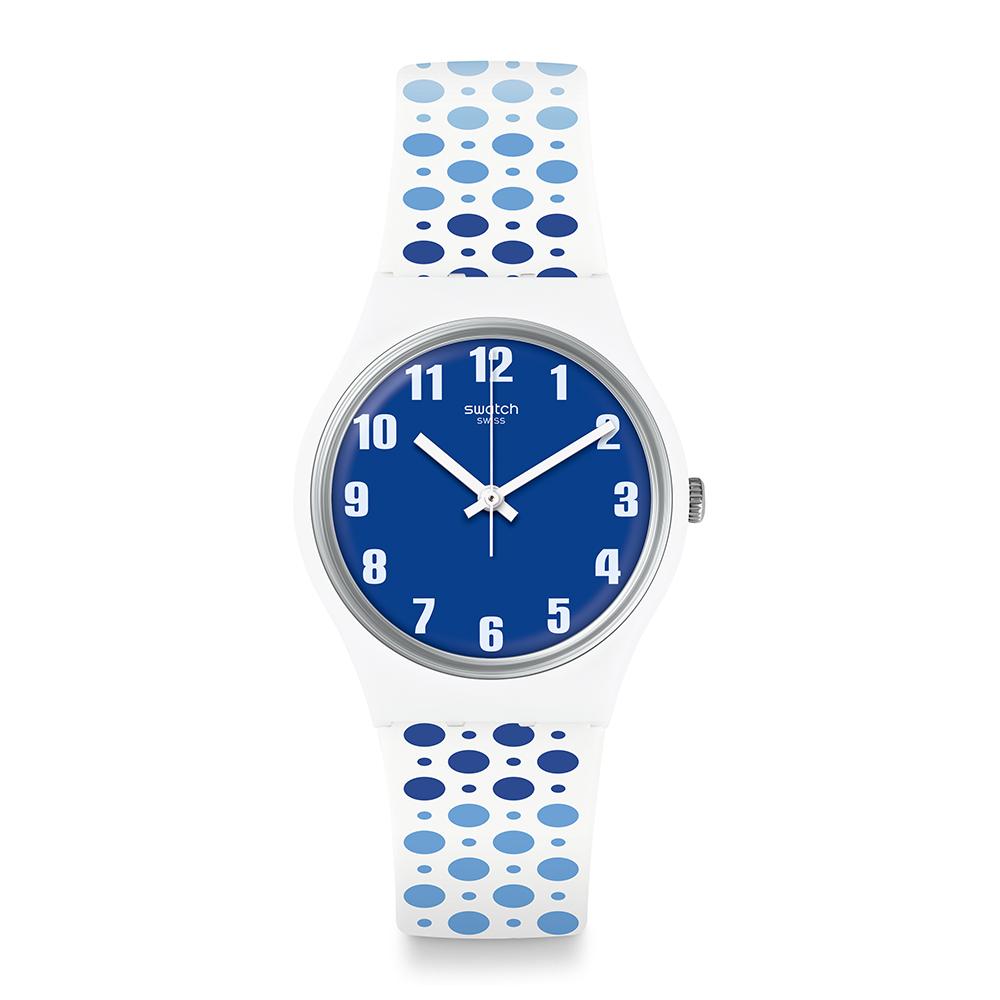 Swatch  Transformation系列 PAVEBLUE 藍色足跡
