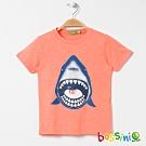 bossini男童-印花短袖T恤26桃