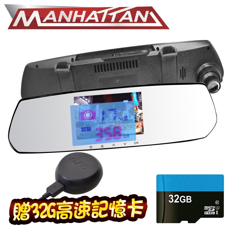 MANHATTAN RS10G GPS測速預警 行車紀錄器