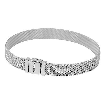 Pandora 潘朵拉 Reflexions系列純銀米蘭帶手環