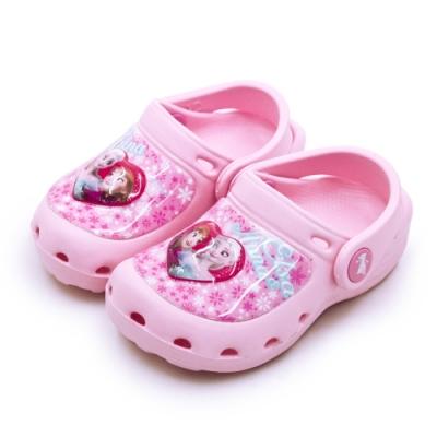 Disney 迪士尼 冰雪奇緣 FROZEN 電燈園丁涼鞋 粉紅桃 94043