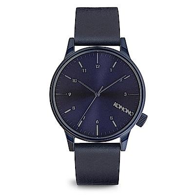 KOMONO Winston Regal 腕錶-藍調/41mm