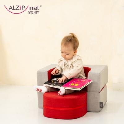【ALZiPmat】韓國蔬菜水果小沙發 / 寶貝專屬沙發 - 蘋果