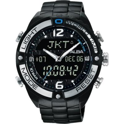 ALBA 雅柏ACTIVE系列魅力風格腕錶44mm(N021-X002SD/AZ4015X1)