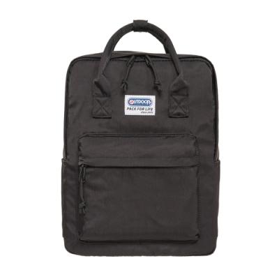 【OUTDOOR】玩色系列-13.3吋筆電後背包-黑色 OD101127BK