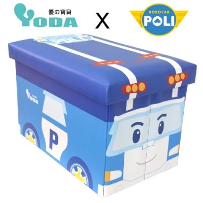 YoDa 救援小英雄波力收納箱/玩具收納箱-POLI